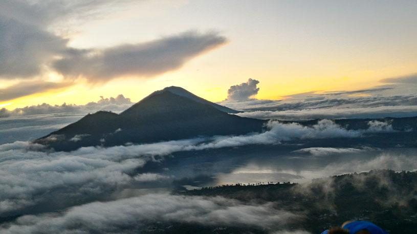 mount Batur temperature
