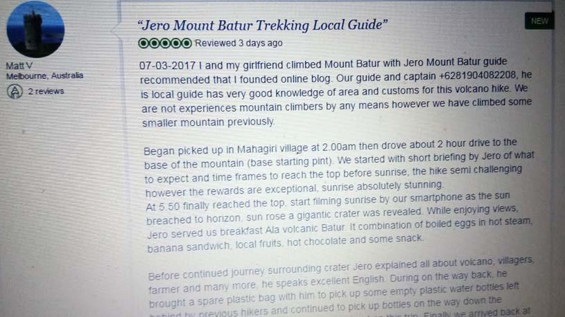 mount batur trekking tripadvisor