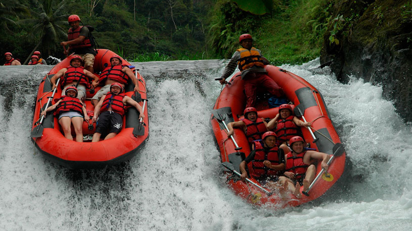Mount Batur trek and white water rafting