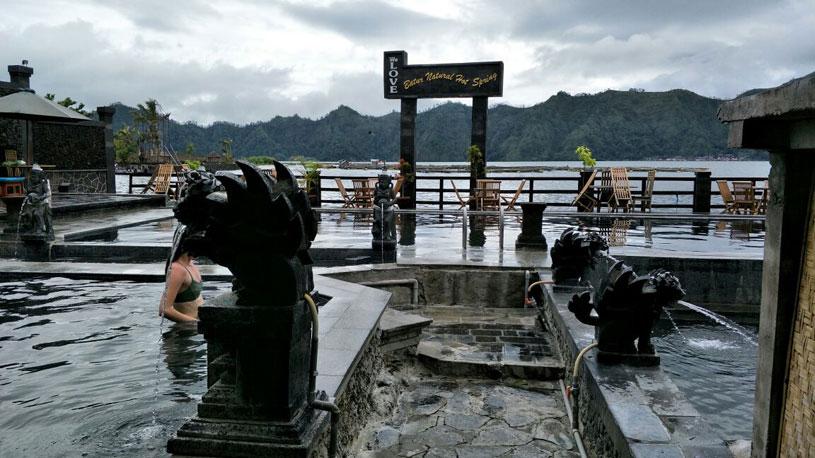 Batur natural hot spring toya bungkah
