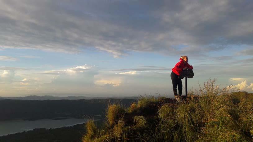 Amazing adventure of mount batur