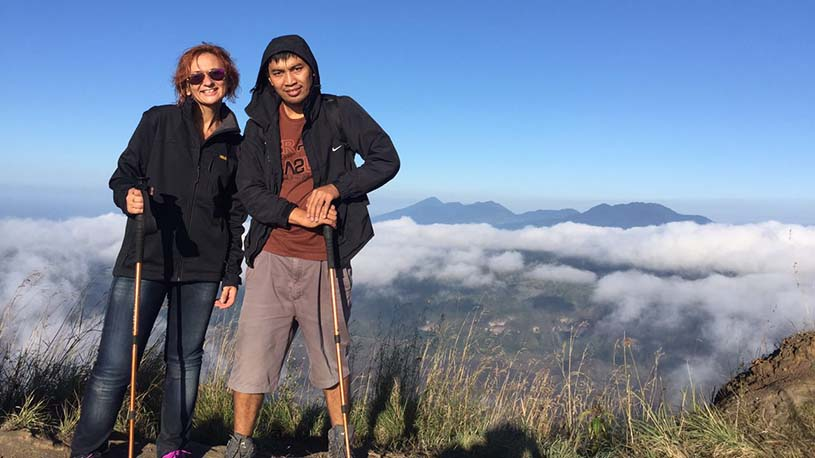 Mount batur sunrise trek via Pura Jati