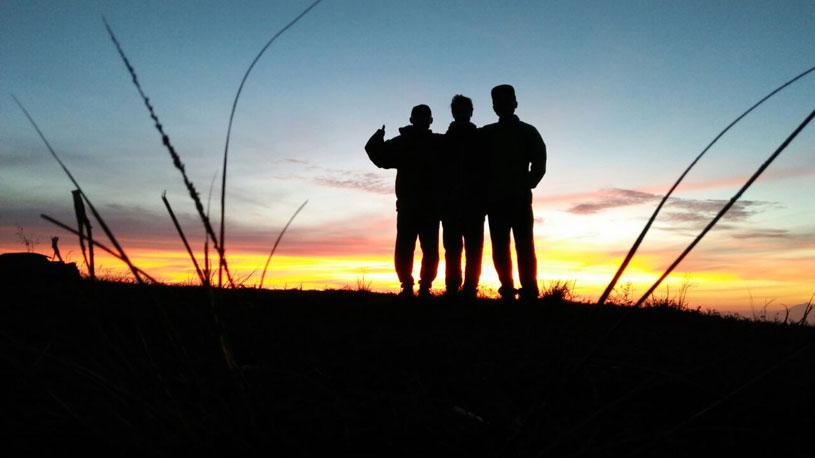 Pulak hills sunrise trekking