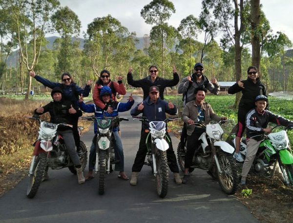 Mount batur sunrise trek with bike taxi