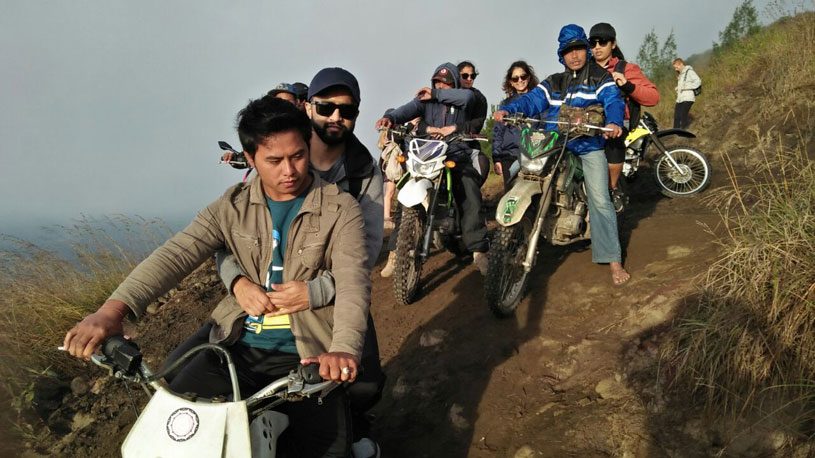 Mount batur sunrise trek with bike taxi