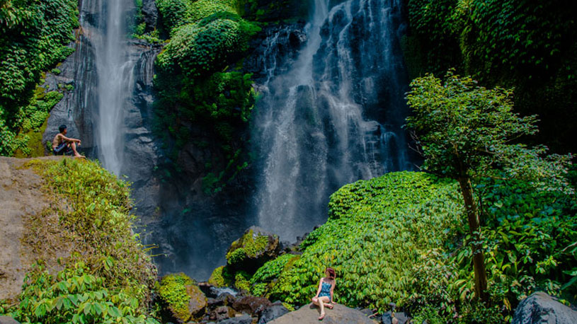 Are You in Bali? Experience Sekumpul Waterfall Trekking Now