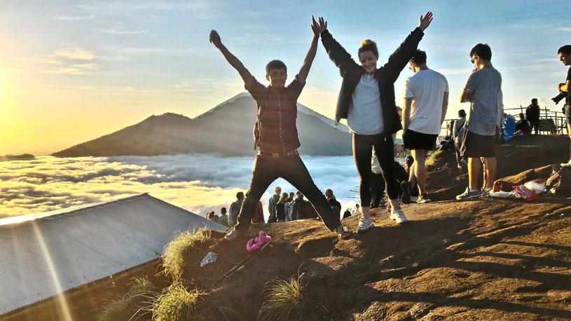 The Best Way to Trekking Mount Batur in Bali